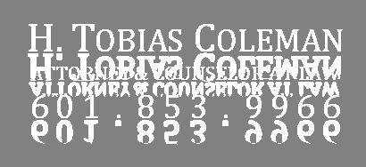 H. Tobias Coleman, PLLC